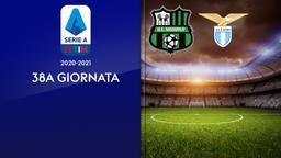 Sassuolo - Lazio. 38a g.