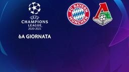 Bayern Monaco - Lokomotiv Mosca. 6a g.