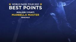 Migliori 3 punti Marbella Master Maschile