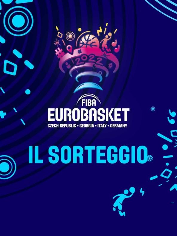 FIBA Eurobasket 2022 il sorteggio