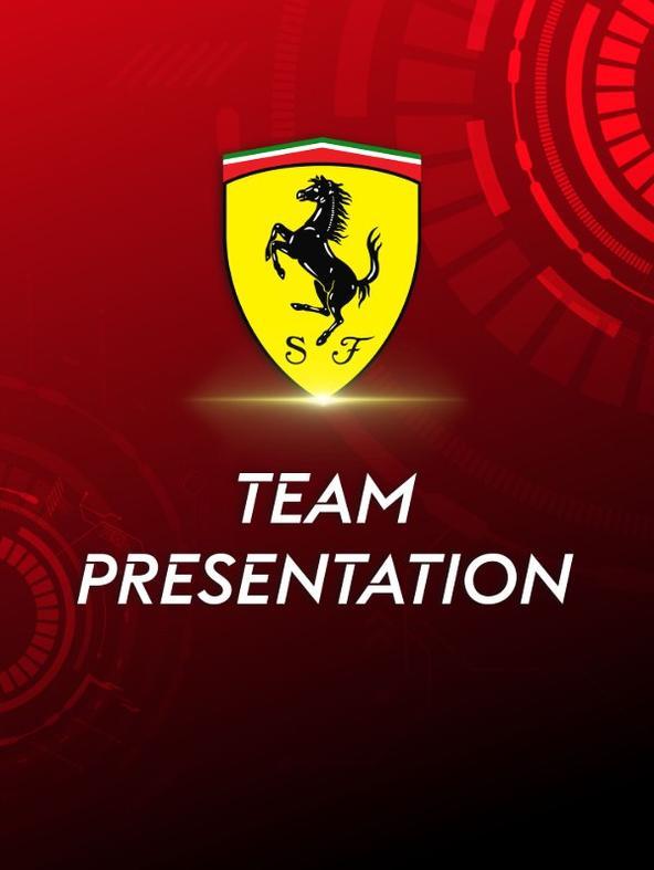 Team Presentation Ferrari 2021