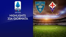 Lecce - Fiorentina