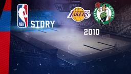 LA Lakers - Boston 2010. Playoff. Finale. Gara 7