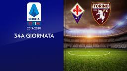 Fiorentina - Torino. 34a g.