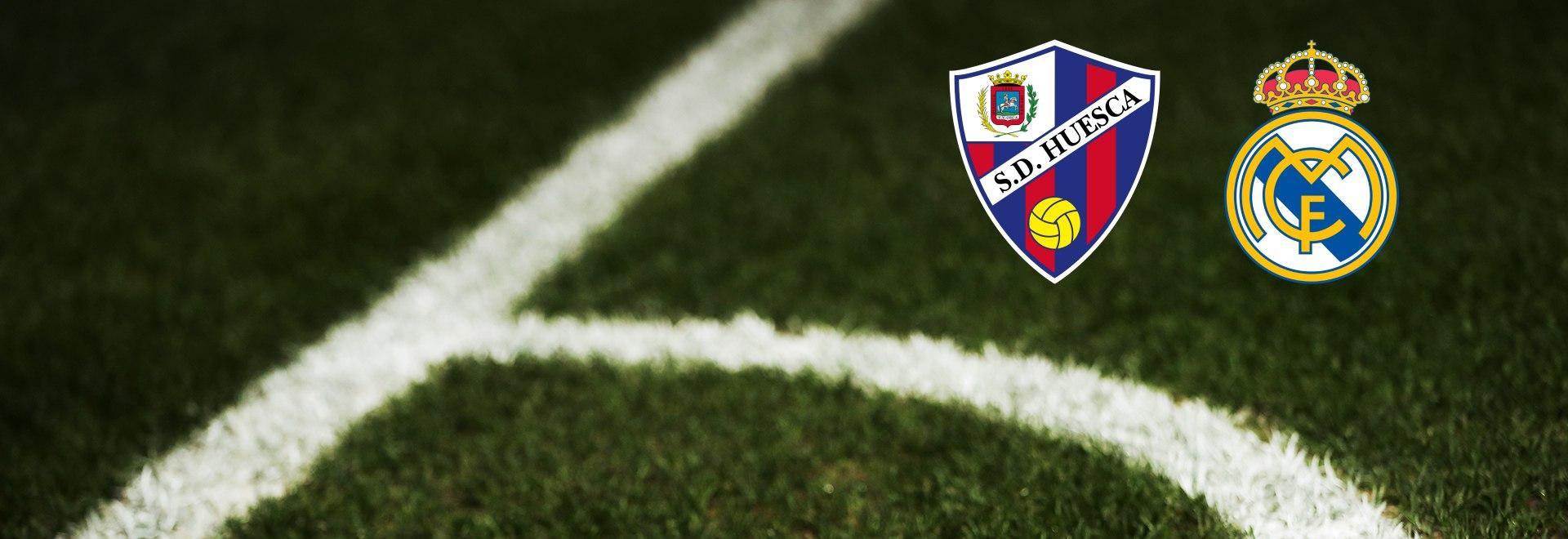 Huesca - Real Madrid. 22a g.