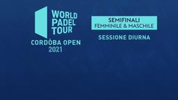 Cordòba Open: Semifinali F/M Sessione diurna