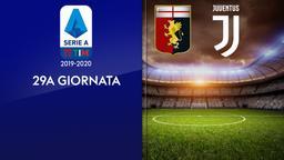 Genoa - Juventus. 29a g.