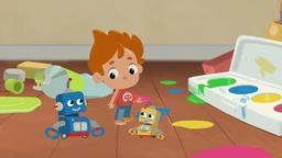 Buone Feste / Baby Robot / Mostro della spazzatura