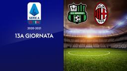 Sassuolo - Milan. 13a g.