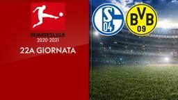 Schalke - Borussia Dortmund. 22a g.