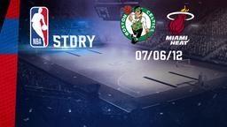 Boston - Miami 07/06/12. East Conf. Finals 6