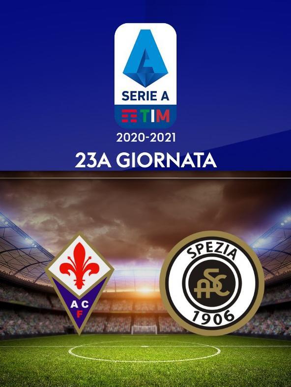 Fiorentina - Spezia. 23a g.