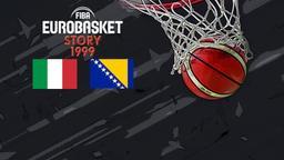 1999: Italia - Bosnia. Fase a gironi
