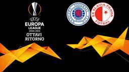 Rangers - Slavia Praga. Ottavi Ritorno
