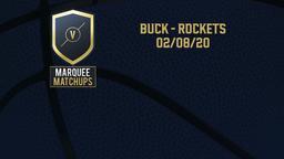 Buck - Rockets 02/08/20