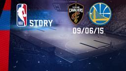 Cleveland - Golden State 09/06/15. Finale. Gara 3