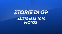 Australia, Phillip Island 2016. Moto3