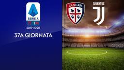Cagliari - Juventus. 37a g.