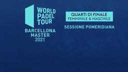 Lugo Open: Quarti M/F Sessione pomeridiana
