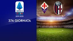 Fiorentina - Bologna. 37a g.