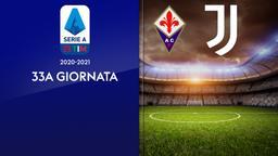 Fiorentina - Juventus. 33a g.