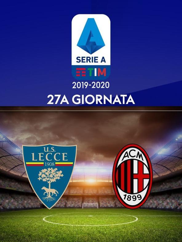 Lecce - Milan. 27a g,