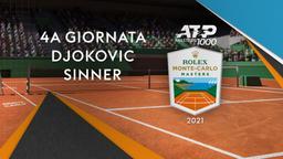 Djokovic - Sinner