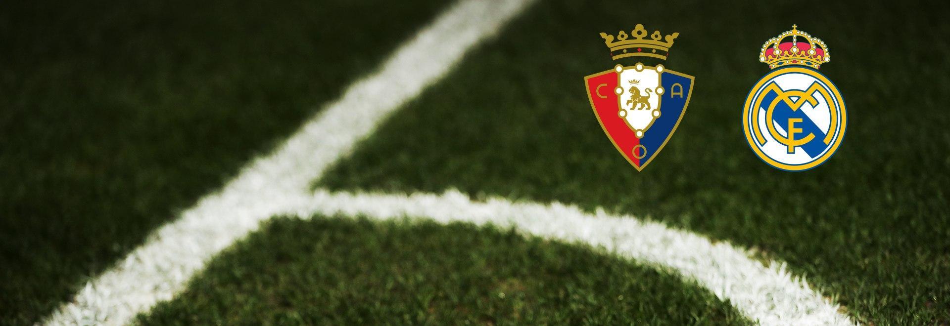 Osasuna - Real Madrid. 18a g.