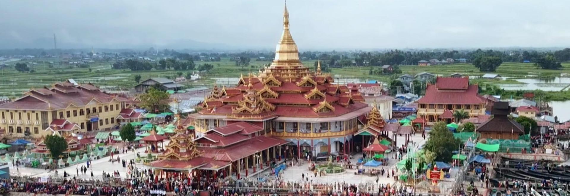 In una palafitta sul lago - Myanmar