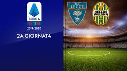 Lecce - Verona. 2a g.