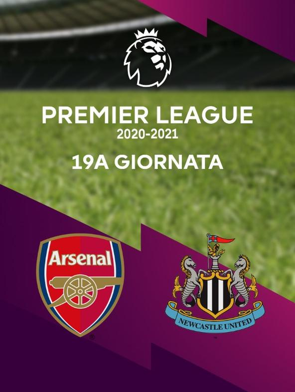 Arsenal - Newcastle. 19a g.