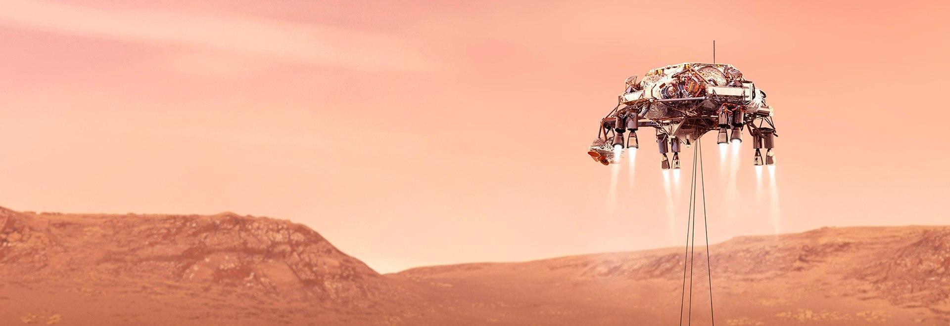 Mars 2020: esplorazione su Marte