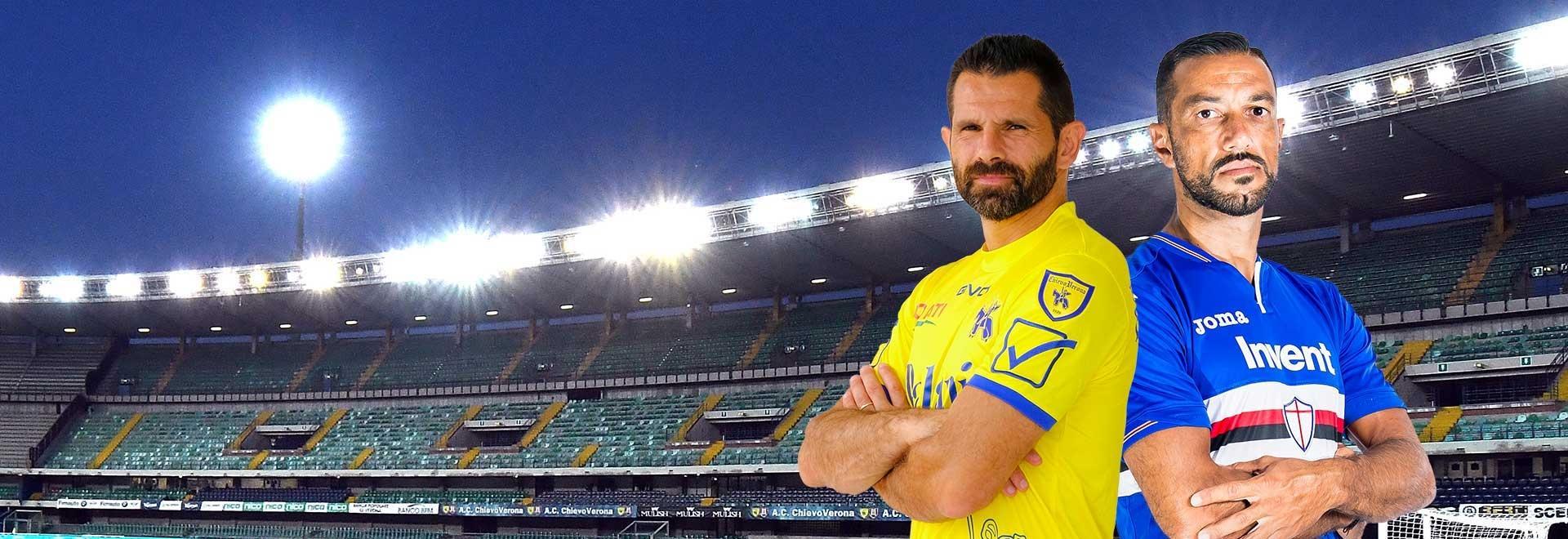 Chievo - Sampdoria. 37a g.