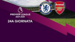 Chelsea - Arsenal. 24a g.
