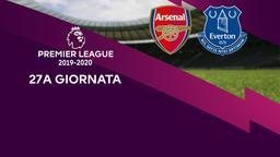 Arsenal - Everton. 27a g.