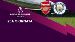 Arsenal - Manchester City. 25a g.