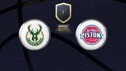 Bucks - Pistons 17/12/2018