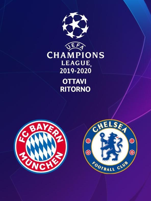 Bayern M. - Chelsea. Ottavi Ritorno