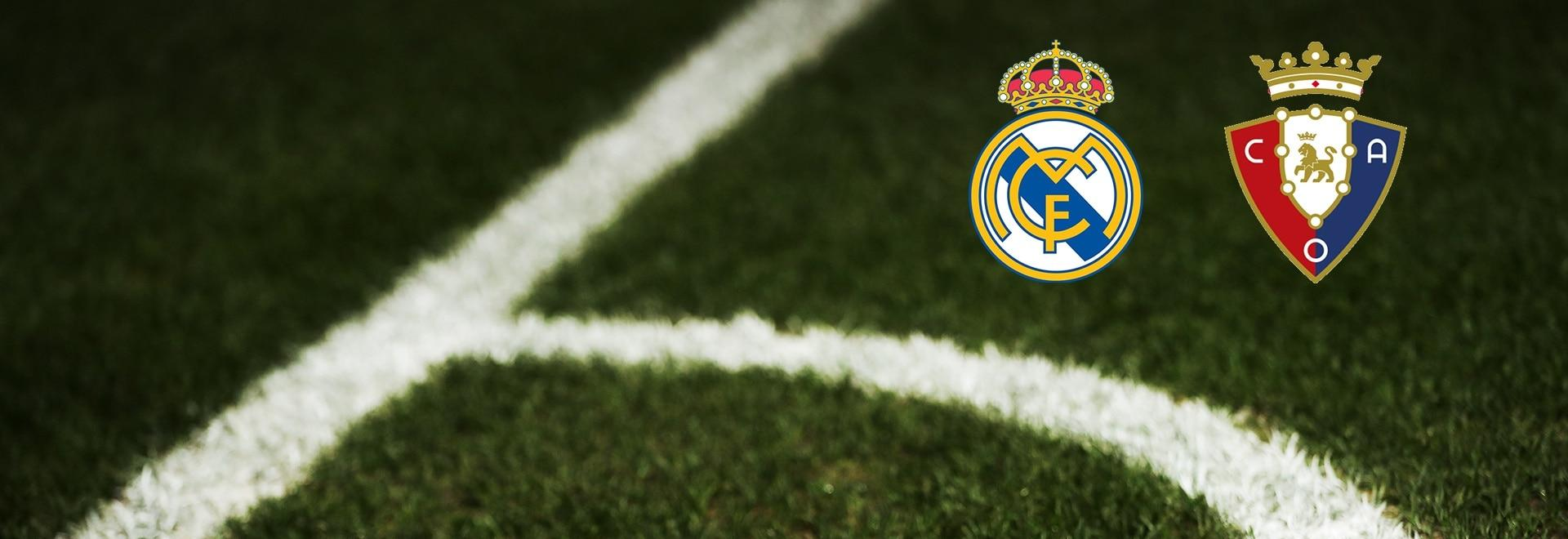 Real Madrid - Osasuna. 6a g.