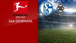Schalke - Borussia Moenchengladbach. 26a g.