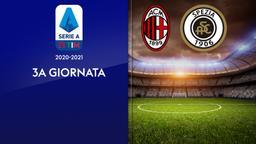 Milan - Spezia. 3a g.