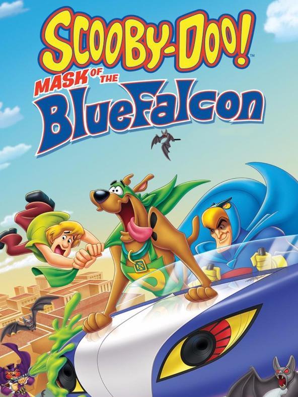 Scooby-Doo e Blue Falcon
