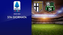 Parma - Sassuolo. 37a g.