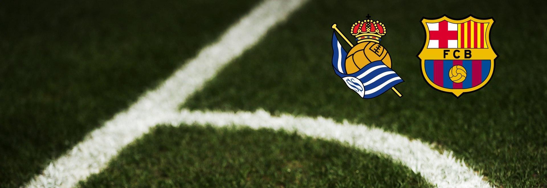 Real Sociedad - Barcellona. 28a g.
