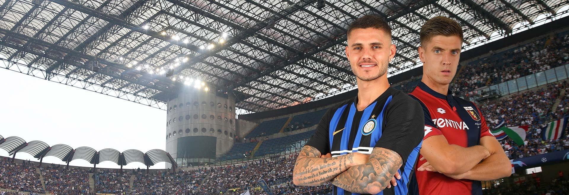 Inter - Genoa. 11a g.
