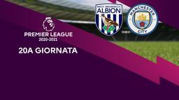 West Bromwich Albion - Manchester City. 20a g.