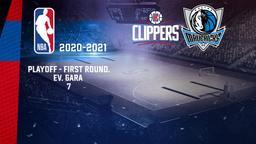 LA Clippers - Dallas. Playoff - First Round. Ev. Gara 7