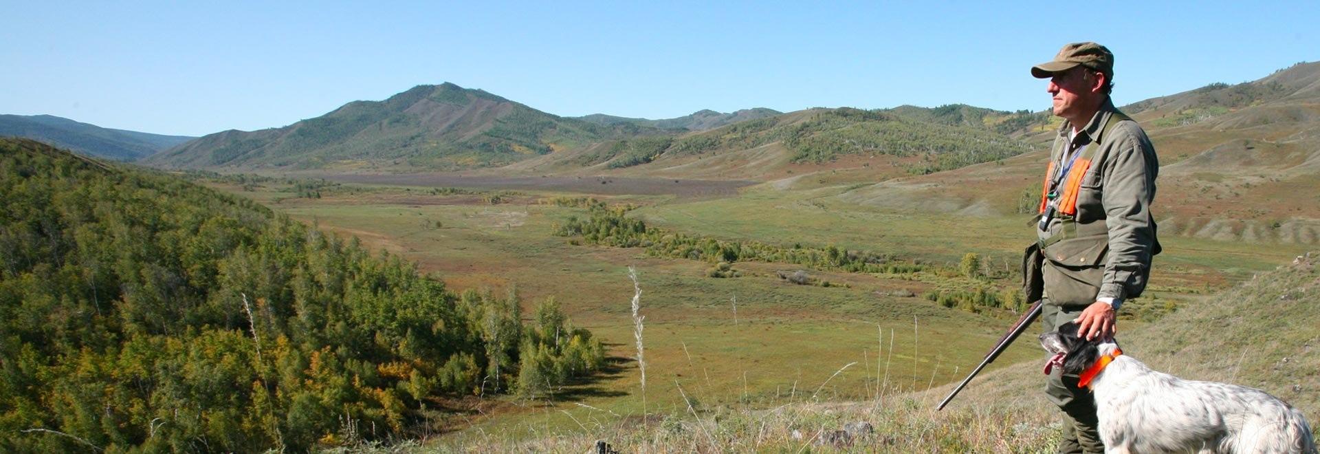 A caccia nella valle del Santerno. 2a parte