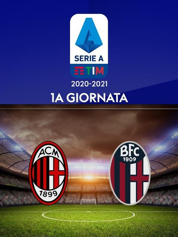 Milan - Bologna   (diretta)