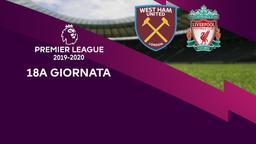 West Ham United - Liverpool. 18a g.